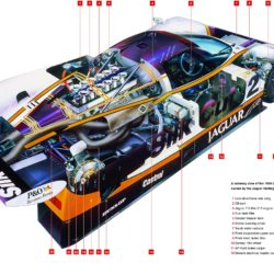 Jaguar XJR-9 technical information