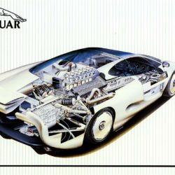 XJ220 Concept small poster