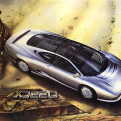 XJ220 Concept wall poster