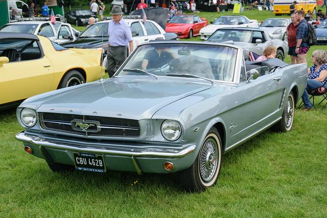 Ford Mustang кабриолет, 1964 год, первая серия