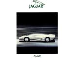 Jaguar XJ220 Concept Press Pack