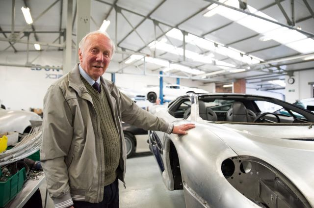 Джим Рэндл и Jaguar XJ220