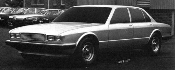 Jaguar XJ40 Prototype 1977