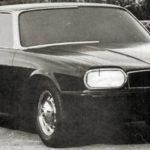 Jaguar XJ40 Prototype april 1973