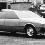 Jaguar XJ40 Prototype car august 1974