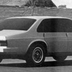 Jaguar XJ40 Prototype car august 1976