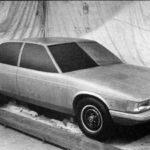 Jaguar XJ40 Prototype car december 1975