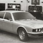 Jaguar XJ40 Prototype car february 1980