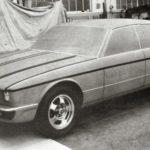 Jaguar XJ40 Prototype car june 1979