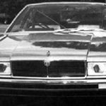 Jaguar XJ40 Prototype car march 1976