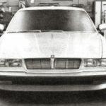 Jaguar XJ40 Prototype car march 1978