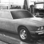 Jaguar XJ40 Prototype car november 1978