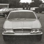 Jaguar XJ40 Prototype car winter 1979