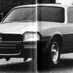 Jaguar XJ40 Prototype clay car may 1973