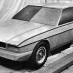 Jaguar XJ40 Prototype model december 1975