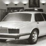 Jaguar XJ40 Prototype model july 1979