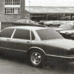 Jaguar XJ40 Prototype model winter 1979