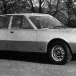 Jaguar XJ40 Prototype Pininfarina model