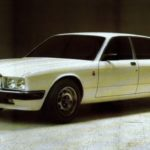 Jaguar XJ40 Prototype show car in june 1980
