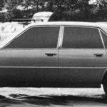 Jaguar XJ40 Prototype test car june 1974