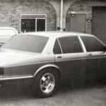 Jaguar XJ40 Prototype test model winter 1979