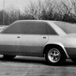Jaguar XJ40 Prototype unknown car 1974