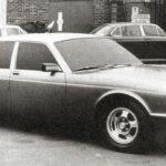 Jaguar XJ40 Prototype winter 1979