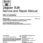 Jaguar XJ40-XJ6 service and repair manual
