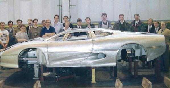 Jaguar XJ220 Experimental Prototype body creation