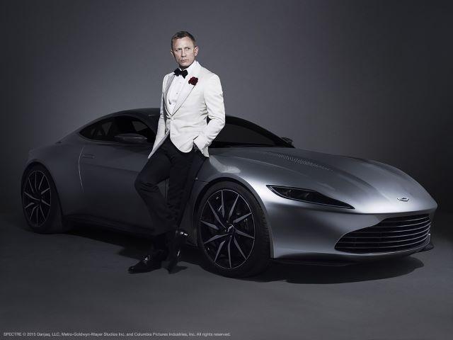Aston-Martin Джеймса Бондаа