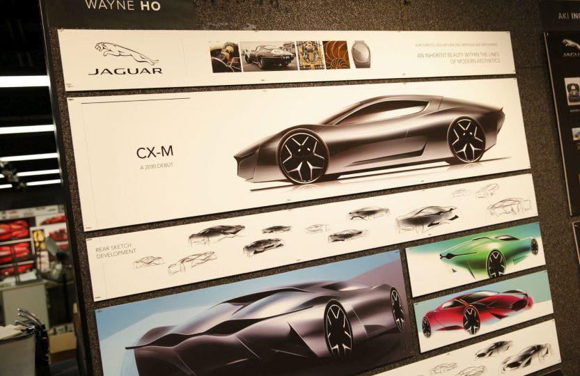 Светлое будущее автомобилей jaguar jaguar club russia Форум  Группа отобранных по конкурсу студентов и аспирантов колледжа Пасадены представляла дипломные работы по автомобильному дизайну